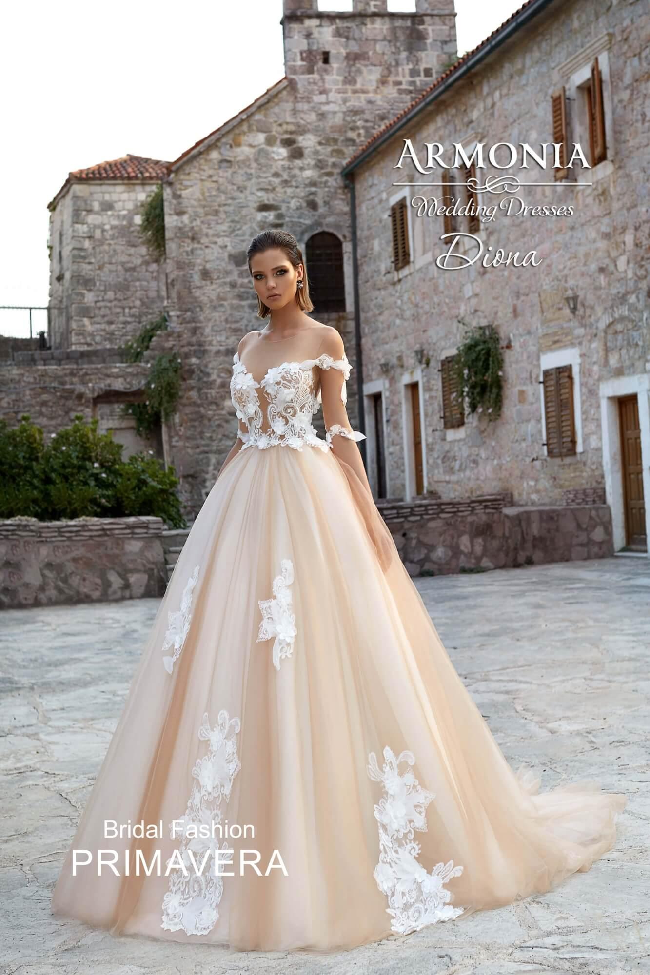 4a6d546e5a3 Цветное свадебное платье