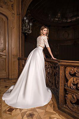 149f0c01d7fc64b Достоинства и недостатки раздельных платьев. Свадебное платье-двойка ...